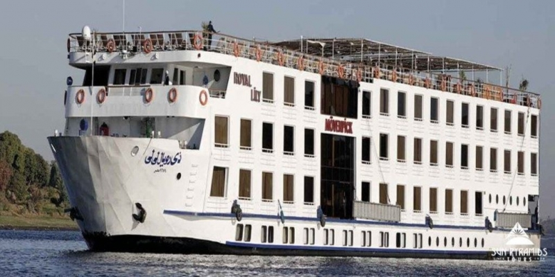 Royal Lilly one of the Egypt nile cruises