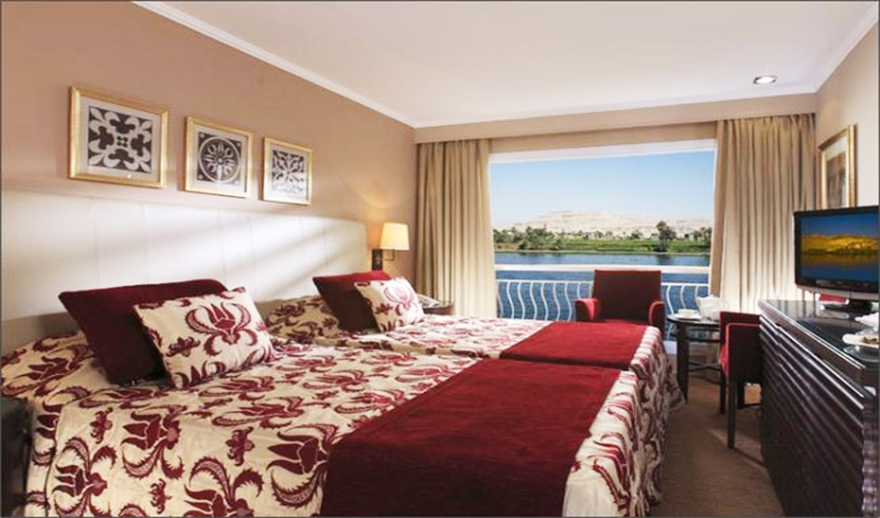 Steigenberger Minerva Nile Cruise is a 05 star modern deluxe Nile cruise sailing between Luxor and Aswan.
