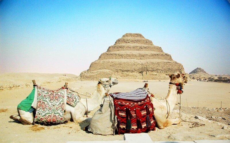 Pyramid of Djoser are considered one of the oldest pyramids in Egypt.