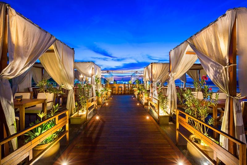 Sun Deck of Luxury M/S Farah Nile Cruises