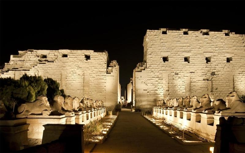 sound and light show at karnak temples