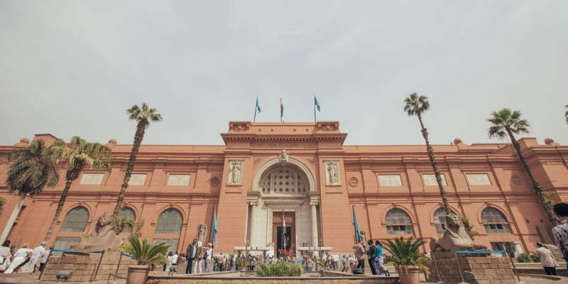 Take a break to Cairo and explore the Egyptian Museum one of the best  Egyptian sites.