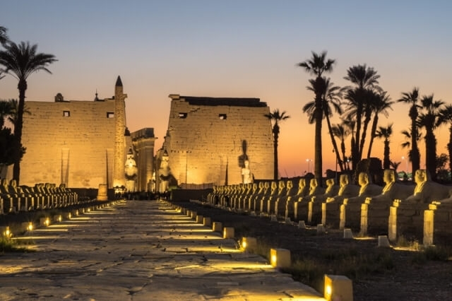12 Days Egypt trips to see the best of Egypt attractions. Visit Luxor Temple at night. Enquire Now!