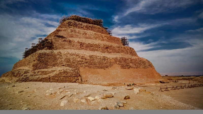 Saqqara Pyramids in Egypt