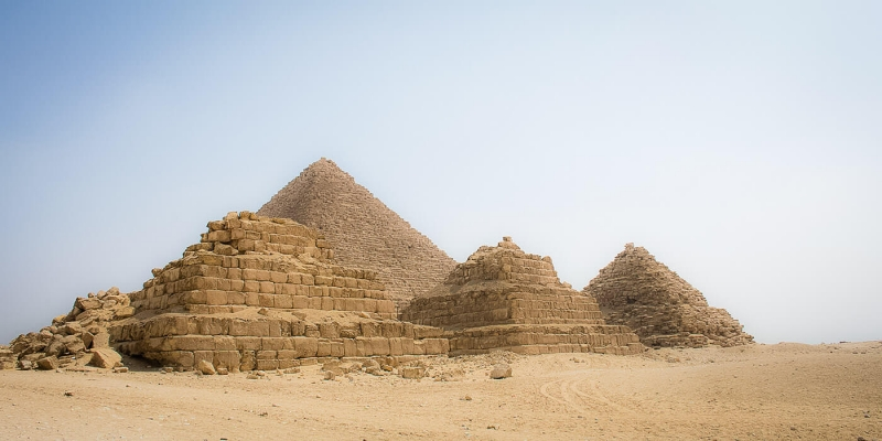 Giza Pyramids are considered one of the wonders of the world.