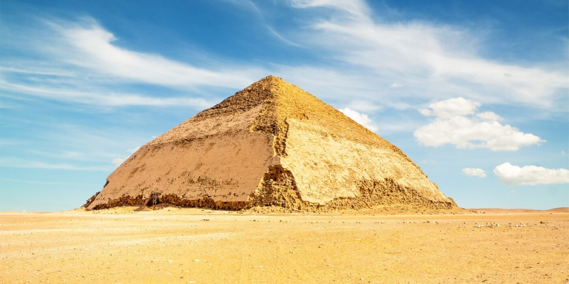 Meidum Pyramid are considered one of the amazing pyramids in Egypt.