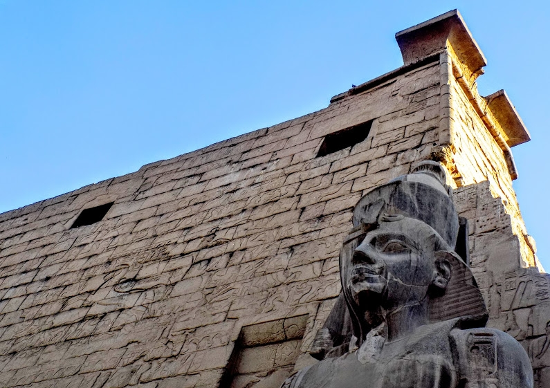 The amazing Luxor Temple