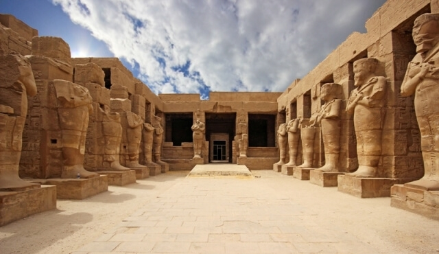 The top things to do in Luxor, Luxor Temple is a large Ancient Egyptian temple complex located on the east bank of the Nile River in Luxor.
